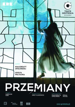 """Zdjęcie: Kraków: Teatr Groteska """"Przemiany"""" – reż. Adolf Weltschek, scen. Małgorzata Zwolińska, chor. Caroline Finn"""