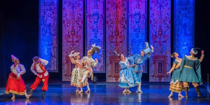 """Zdjęcie: Kraków/Dzień tańca z Cracovia Danza: Balet Dworski """"Cracovia Danza"""" –""""Ballet des Nations"""""""