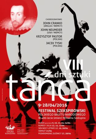 Zdjęcie: Warszawa/Teatr Wielki – Opera Narodowa: VII Dni Sztuki Tańca – Festiwal Szekspirowski Polskiego Baletu Narodowego