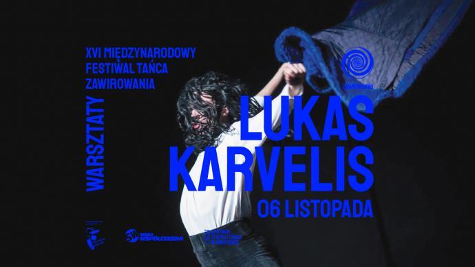 Zdjęcie: Warszawa/XVI Międzynarodowy Festiwal Tańca ZAWIROWANIA: Warsztaty z Lukasem Karvelisem