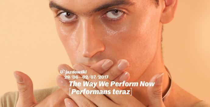 """Zdjęcie: Warszawa/The Way We Perform [Performans teraz]: """"{Sztuka z perspektywy…}"""" – oprowadzanie kuratorskie Agnieszki Sosnowskiej"""