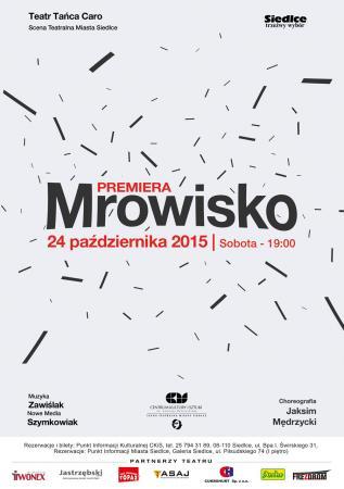 """Zdjęcie: Siedlce: Teatr Tańca Caro """"Mrowisko"""" – chor. Paulina Jaksim, Jakub Mędrzycki"""