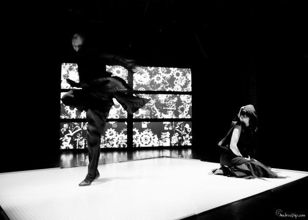 """Zdjęcie: Wrocław/Wibracje Taneczne: Sopocki Teatr Tańca """"Wariat i zakonnica"""""""