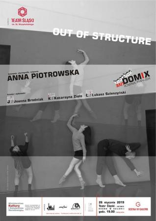 "Zdjęcie: Katowice/ ""mufmi"" teatr tańca: ""Out of structure"" – chor. Anna Piotrowska"