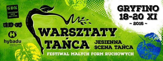 Zdjęcie: Gryfino/VIII Jesienna Scena Tańca: Warsztaty – Iwona Olszowska (taniec współczesny) i Imran Khan (hip-hop)