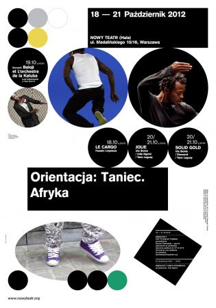 Zdjęcie: Warszawa/Orientacja: Taniec. AFRYKA: Warsztaty krytycznego pisania. Prowadzenie: Roman Pawłowski