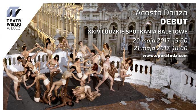 """Zdjęcie: Łódź/XXIV Łódzkie Spotkania Baletowe: Acosta Danza """"Debut"""""""