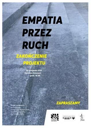 """Zdjęcie: Poznań/Myśl w ruchu 2016: Finał projektu """"Empatia przez ruch"""""""