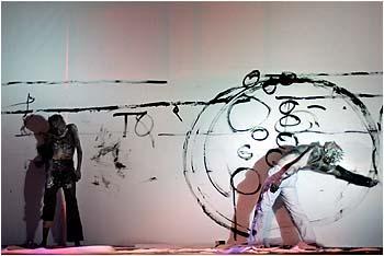 """Zdjęcie: Kraków/XXI Krakowskie Spotkania BaletOFFowe: Art Color Ballet """"Tabula Rasa"""""""