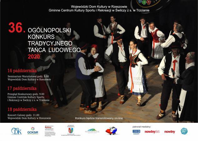 Zdjęcie: Rzeszów-Trzciana: XXXVI Ogólnopolski Konkurs Tradycyjnego Tańca Ludowego