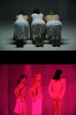 """Zdjęcie: Lublin/XX Międzynarodowe Spotkania Teatrów Tańca/Kino Mistrzów Tańca: Ann Van den Broek (Holandia) """"The Co(te)lette"""""""