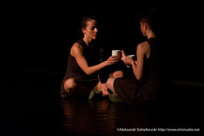 """Zdjęcie: Białystok/XII Festiwal """"Kalejdoskop"""": Anya Korzyuk (Białoruś) """"Self to the N-th Power"""" i M.O.S.T Dance Project (Ukraina) """"believe/not/believe"""""""