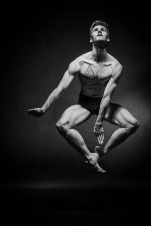 Zdjęcie: Kraków/Krakowskie Centrum Choreograficzne: Warsztat Contemporary Ballet z Łukaszem Ziębą