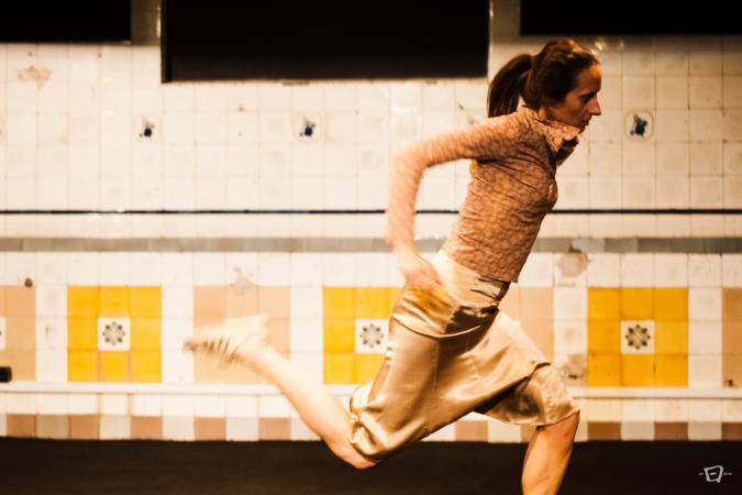 "Zdjęcie: Gryfino/VIII Jesienna Scena Tańca 2016: Nicol Wesołowska ""OB i AD"", Iwona Olszowska ""Moda na gender"", Anna Kamińska i Patryk Durski ""5dm3"", Teatr Tańca EGO VU ""1, 2, 3, 4"""