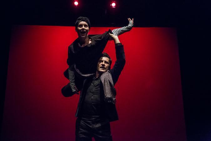 """Zdjęcie: Lublin/XX Międzynarodowe Spotkania Teatrów Tańca: Teatr Dada von Bzdülöw """"Transmigrazione di fermenti d'amore"""""""