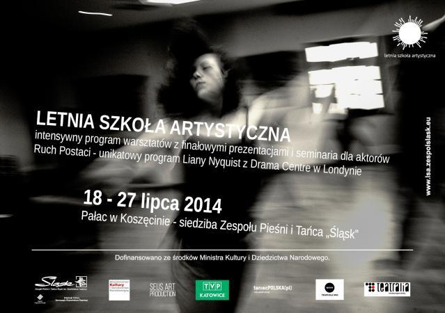 Zdjęcie: Koszęcin/ VIII Letnia Szkoła Artystyczna: Program dla aktorów – Ruch Postaci z Lianą Nyquist