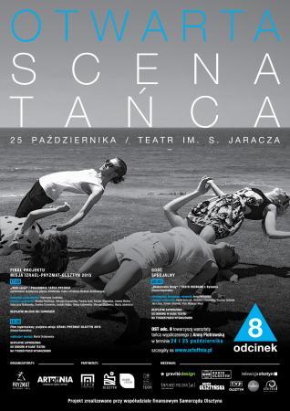 """Zdjęcie: Olsztyn/Otwarta Scena Tańca odc.8: Teatr Rozbark """"democratic body"""" – chor. Anna Piotrowska"""