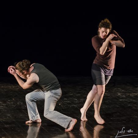 """Zdjęcie: Lublin/XIX Międzynarodowe Spotkania Teatrów Tańca: Liat Dror Nir Ben gal Dance Company """"Gluten Free"""" / Roosna & Flak """"Wild Places : : Mountain"""""""