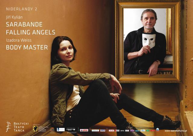 """Zdjęcie: Gdańsk/Projekt Niderlandy: Bałtycki Teatr Tańca """"Body Master/Falling Angels/Sarabande"""" – spektakle Izadory Weiss i Jiříego Kyliána"""