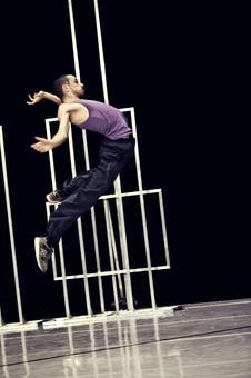 """Zdjęcie: Tarnów/II Festiwal Teatrów Tańca Scena Otwarta: Cullberg Ballet (Szwecja) """"JJ's voices"""""""