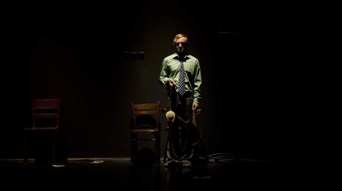 "Zdjęcie: Łódź: Teatr Chorea ""Gry (w) Pana Cogito"""
