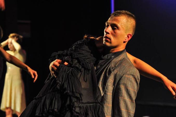"""Zdjęcie: Rzeszów: Teatr O.de.la """"Łagodna"""" – chor. Marta Bury"""