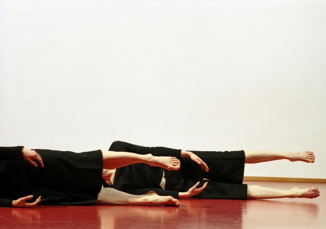 """Zdjęcie: Bytom/Śląski Teatr Tańca: Zufit Simon i Ulrike Etzold """"Adom Modulations"""""""