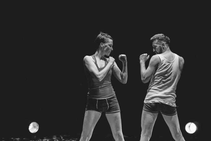 Zdjęcie: Wrocław/XV Mandala Performance Festival: TO to TO, choreografia Katarzyna Chmielewska i Jakub Truszkowski