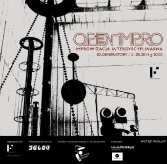 """Zdjęcie: Warszawa/Open Impro: """"OPEN IMPRO.02.GENERATORY"""" – akcja performatywna"""