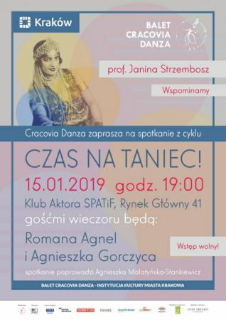 """Zdjęcie: Kraków/Balet Dworski """"Cracovia Danza"""": """"Czas na taniec!"""" – """"Profesor Janina Strzembosz. Wspominamy"""""""