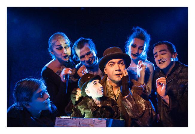 """Zdjęcie: Warszawa/XIV Międzynarodowy Festiwal Sztuki Mimu: Teatr Warszawskiego Centrum Pantomimy """"GOGOL"""" – reż. Lionel Menard"""