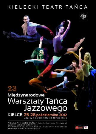 Zdjęcie: Kielce: XXIII Międzynarodowe Warsztaty Tańca Jazzowego i Wieczór Tańca Współczesnego