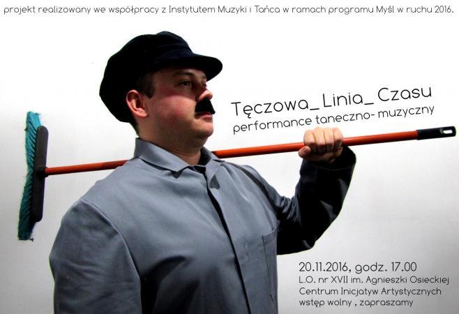 """Zdjęcie: Wrocław/Myśl w ruchu 2016: Pokaz finałowy projektu """"Tęczowa linia czasu"""""""