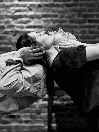 """Zdjęcie: Wrocław/Instytut Grotowskiego/Monosytuacje 2: Agnieszka Bresler i Diego Pileggi """"The Lover"""""""