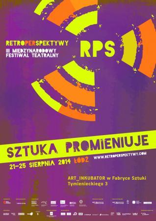 """Zdjęcie: Łódź/III Retroperspektywy 2014: Dorota Porowska, Zofia Dworakowska, Hubert Domański, Paweł Korbus """"Jeden dzień w mieście"""" – performance"""