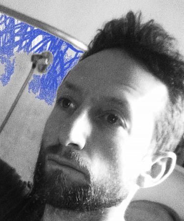"""Zdjęcie: Wrocław/Konkurs OFF XXXV Przeglądu Piosenki Aktorskiej: Irad Mazliah, Zbigniew Szumski""""The failure of a future – upadek przyszłości"""""""