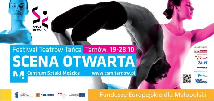 "Zdjęcie: Tarnów/II Festiwal Teatrów Tańca Scena Otwarta:  ""k_INEMATICA"" – performance video mapping 3D"