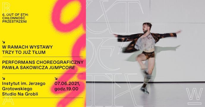 Zdjęcie: Wrocław/Instytut im. Jerzego Grotowskiego: Paweł Sakowicz Jumpcore