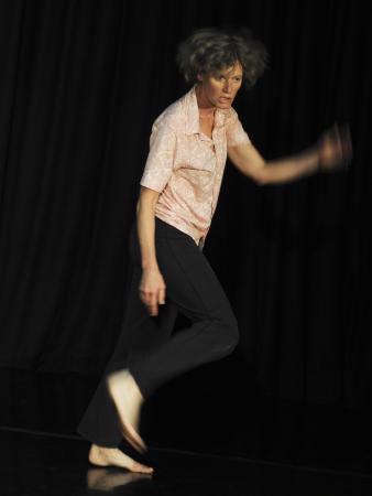 "Zdjęcie: Poznań/AAT: Rosalind Crisp ""Choreographic improvisation""- coaching"