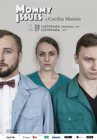 """Zdjęcie: Bytom/Zamówienia choreograficzne 2016: Teatr ROZBARK """"Mommy Issues'"""" – chor. Cecilia Moisio"""