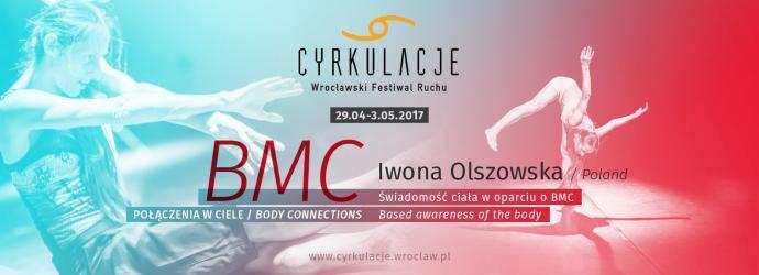 """Zdjęcie: Wrocław/VIII CYRKULACJE: Iwona Olszowska """"Świadomość ciała z elementami BMC®  – Połączenia w ciele"""" – ścieżka twórcza"""