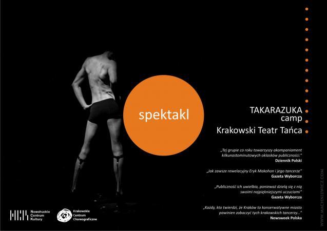 """Zdjęcie: Krakowskie Centrum Choreograficzne/Dzień Kobiet: Krakowski Teatr Tańca """"Takarazuka camp"""" – chor. Eryk Makohon"""