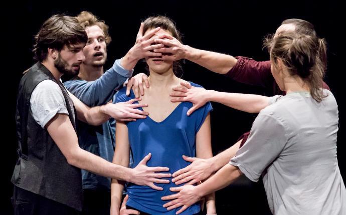 "Zdjęcie: Łódź/III Retroperspektywy 2014: Teatr Dada von Bzdülöw ""Enclave 4/7"" – chor. Roberto Olivan"