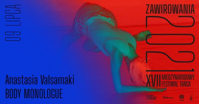 Zdjęcie: XVII Międzynarodowy Festiwal Tańca Zawirowania: Anastasia Valsamaki Body Monologue
