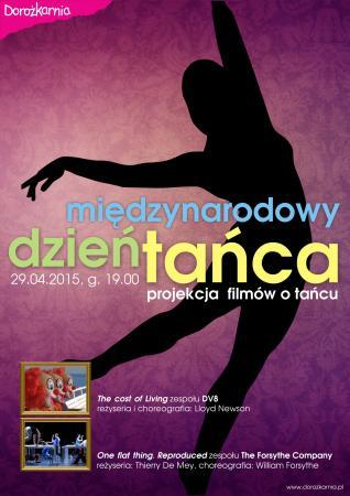 """Zdjęcie: Warszawa/Międzynarodowy Dzień Tańca 2015: DV8 """"The Cost of Living"""", The Forsythe Company """"One flat thing reproduced """""""