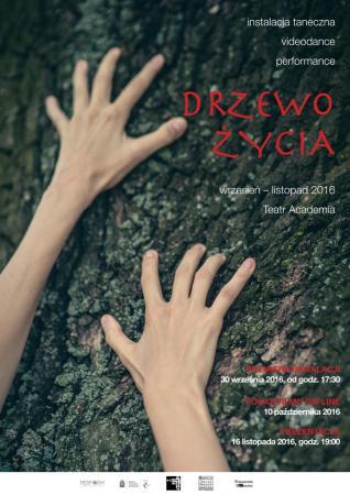 """Zdjęcie: Warszawa: Paulina Święcańska – instalacja """"Drzewo życia"""" (+ sety taneczne)"""