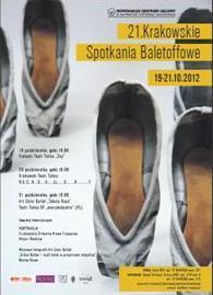 """Zdjęcie: Kraków/XXI Krakowskie Spotkania BaletOFFowe: Krakowski Teatr Tańca """"R..U….C……H…….G………A………..LL…………E……………….R………………..Y"""""""