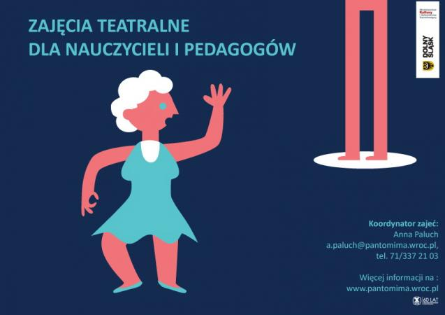 """Zdjęcie: Wrocławski Teatr Pantomimy/""""Akcja: EDUKACJA 2.0"""": Bezpłatne warsztaty dla nauczycieli – zgłoszenia"""