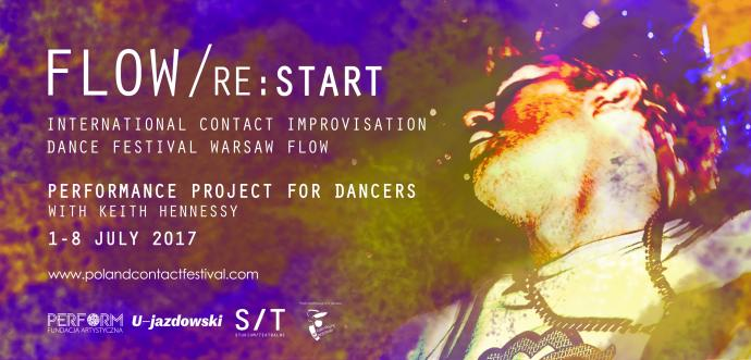 """Zdjęcie: Warszawa/VIII Festiwal """"FLOW/ Re:start"""": Projekt performatywny dla tancerzy. Prowadzenie: Keith Hennessy"""