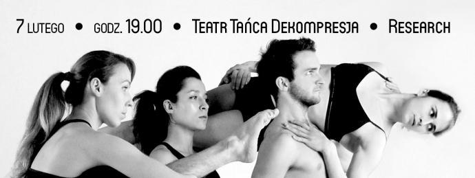 """Zdjęcie: Kraków/Scena Tańca Współczesnego: Teatr Tańca Dekompresja """"Research"""" — chor. Bartek Serowik"""